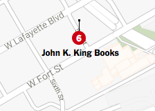 The New York Times LOVES Detroit (and John King Books, too!)