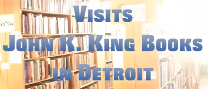 Video- John King Books WatchDetroit.com