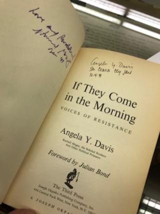 IF THEY COME IN THE MORNING, Voices of Resistance. Angela Y. Davis, Ruchell Magee.