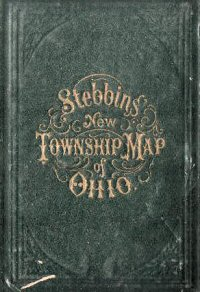 NEW MAP OF OHIO.