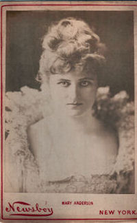 THE WINTER'S TALE, A Comedy in Five Acts…as Arranged by Miss Mary Anderson. mary anderson, William Shakespeare.