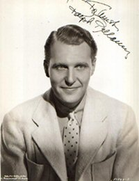 SIGNED AND INSCRIBED PHOTO. Ralph Bellamy.