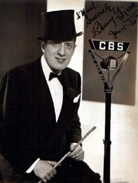 SIGNED AND INSCRIBED PHOTO. Benny Fields.