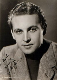 SIGNED AND INSCRIBED PHOTO. Allan Jones.