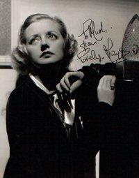 SIGNED AND INSCRIBED PHOTO. Evelyn Laye.