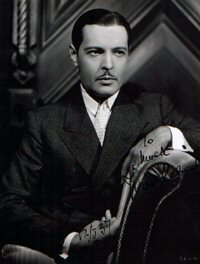 SIGNED AND INSCRIBED PHOTO. Ivan Lebedoff.