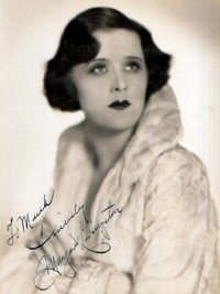 SIGNED AND INSCRIBED PHOTO. Margaret Livingston.