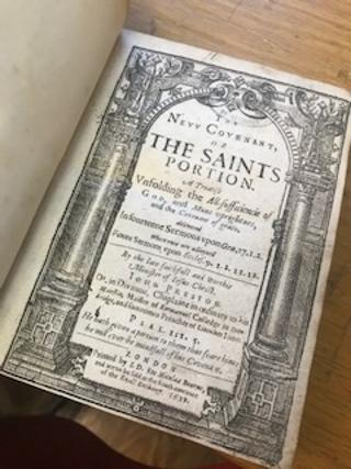 THE NEW COVENANT, Or the Saints Portion, A Treatise Unfolding. . John Preston, Iohn.