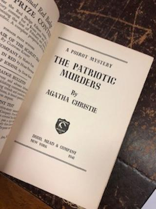 THE PATRIOTIC MURDERS, A Poirot Mystery