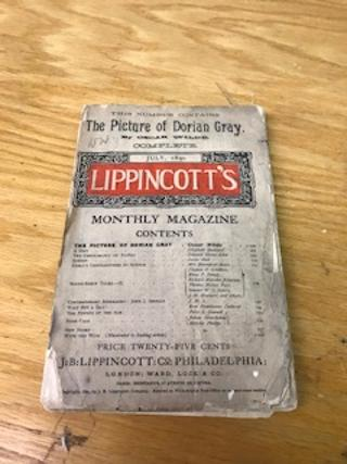 THE PICTURE OF DORIAN GRAY in Lippincott's Monthly Magzine.