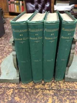 MIDDLEMARCH, A Study of Provincial Life [four volume set, New Edition]. George Eliot
