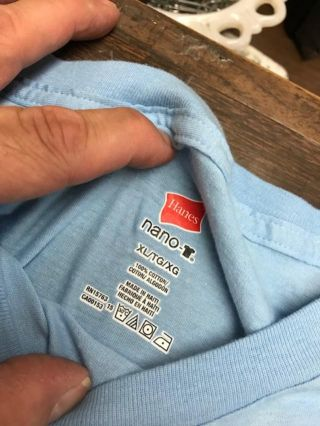 100% COTTON, JOHN KING BOOKS T-SHIRT, LIGHT BLUE, SMALL